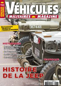 Couverture Véhicules militaires n°93 : Histoire de la JEEP