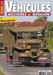 Couverture Véhicules militaires n°94 : Le Dodge WC 52