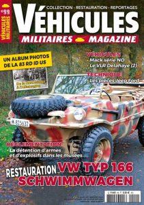 Couv Véhicules Militaires Magazine #99