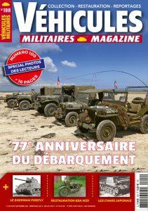 Couv Véhicules Militaires Magazine #100